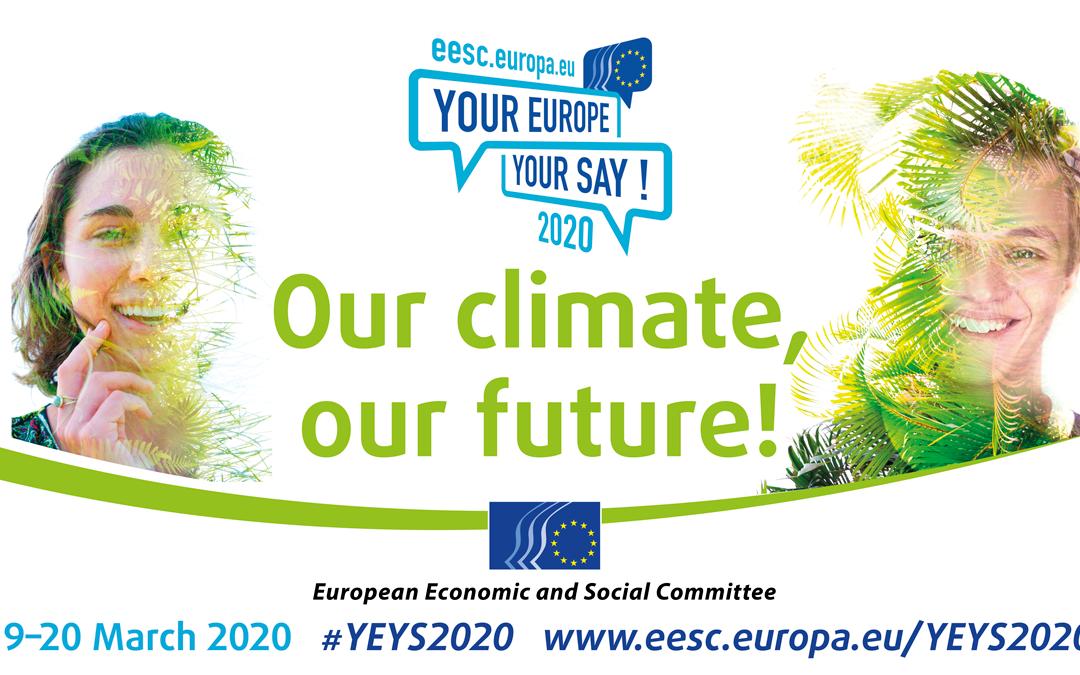 Η εκδήλωση YEYS 19-20/03/2020 – Πρόσκληση για δήλωση ενδιαφέροντος από σχολεία (προθεσμία 18/11/2019)