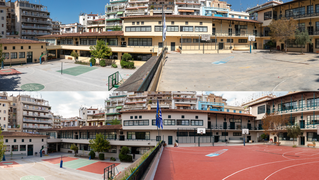 25 σχολεία της Θεσσαλονίκης θα ανοίγουν τις αυλές τους τα απογεύματα