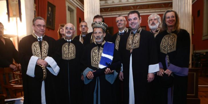 Ο Σταύρος Ξαρχάκος αναγορεύτηκε σε επίτιμο διδάκτορα του πανεπιστημίου Αθηνών