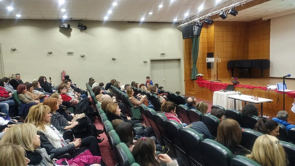 Εκδήλωση της Σχολής Γονέων Φαρσάλων και Επίδειξη Ρομποτικής από τους μικρούς μαθητές της τάξης ρομποτικής του ΚΔΒΜ Computer Center Ευρωεκπαιδευτική