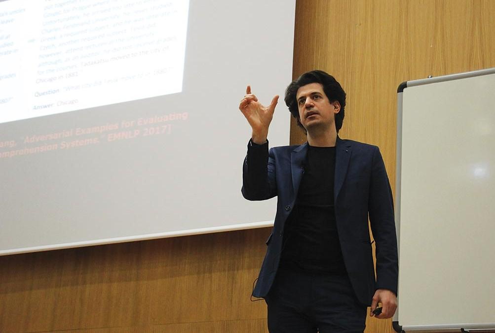 Εντυπωσίασε η ομιλία του μαθηματικού Κωνσταντίνου Δασκαλάκη