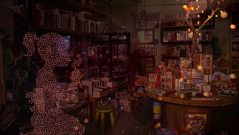 Αν τηλεφωνήσεις σε αυτό το βιβλιοπωλείο στη Λέσβο το βράδυ που κλείνει, συμβαίνει κάτι υπέροχο