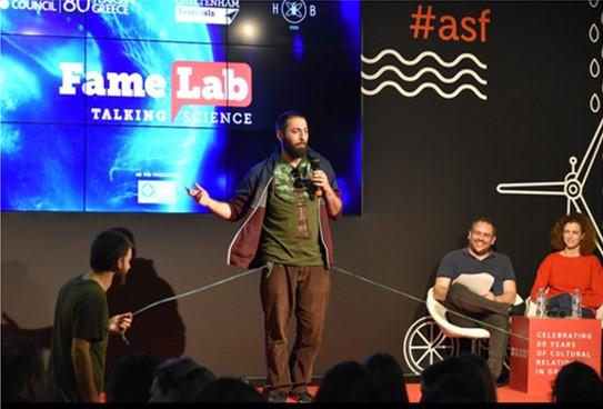 FameLab2020: Ο       διαγωνισμός που αναδεικνύει τα νέα πρόσωπα της επιστήμης