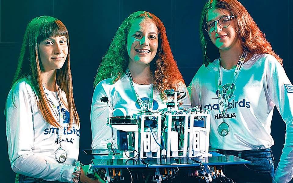 Εκπαιδευτική ρομποτική για… μετάλλιο