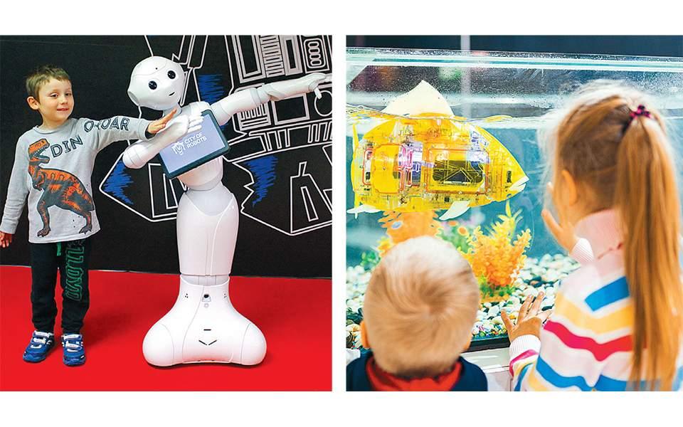 Εβδομήντα ρομπότ «κατακτούν» τον Ελληνικό Κόσμο