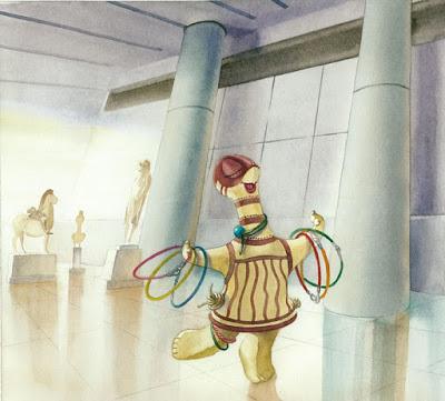"""Διαδικτυακό παιχνίδι """"Η Αριάδνη στο μουσείο της Ακρόπολης"""""""