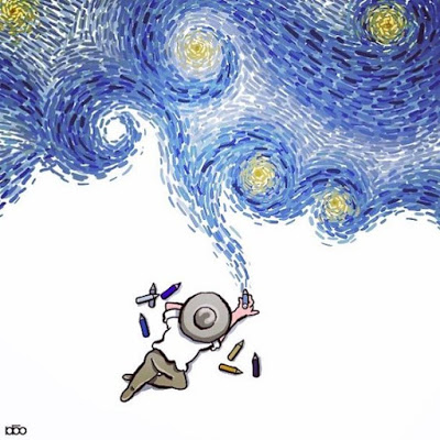 Διαδικτυακό παιχνίδι ¨Η Έναστρη Νύχτα¨ του Vincent Van Gogh