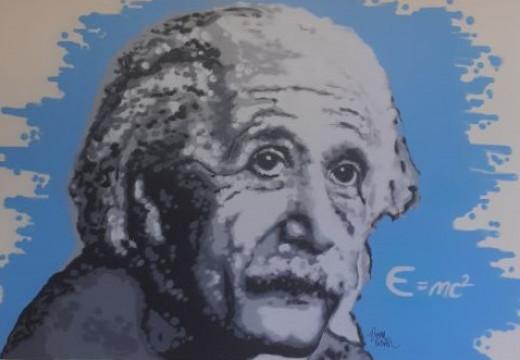 Στο Αρσάκειο της Εκάλης ζωγράφισαν τον Αϊνστάιν και τον Ελύτη στους σχολικούς διαδρόμους