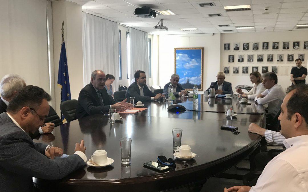 Συνάντηση για το Παράρτημα Διδυμότειχου του Τμήματος Νοσηλευτικής του Διεθνούς Πανεπιστημίου της Ελλάδος
