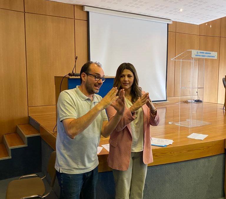 Αναγνώριση της προσφοράς της Ομάδας Εκπαιδευτικών και Πιστοποιημένων Διερμηνέων Ελληνικής Νοηματικής Γλώσσας (ΕΝΓ) της Εκπαιδευτικής Τηλεόρασης