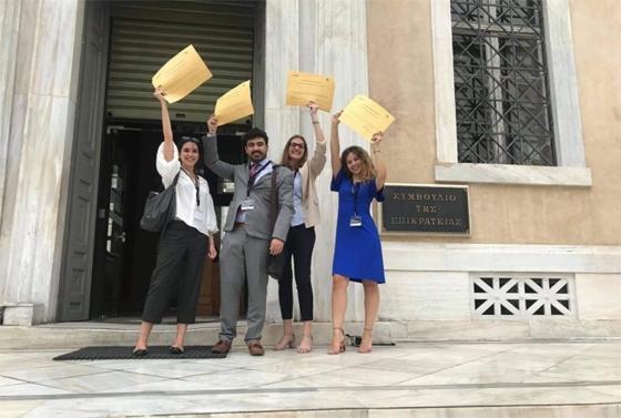 Πρώτη θέση για τη Νομική Κομοτηνής σε εθνικό διαγωνισμό εικονικής δίκης!