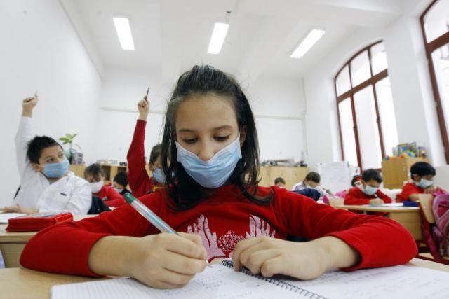Πόσο αποτελεσματική είναι η χρήση μάσκας από τους μαθητές – Ανησυχούν οι δάσκαλοι