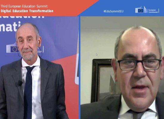 """Βασίλης Διγαλάκης: """"Τα Ευρωπαϊκά Πανεπιστήμια είναι η ατμομηχανή για τον μετασχηματισμό της Τριτοβάθμιας Εκπαίδευσης στη μετα-COVID εποχή"""""""