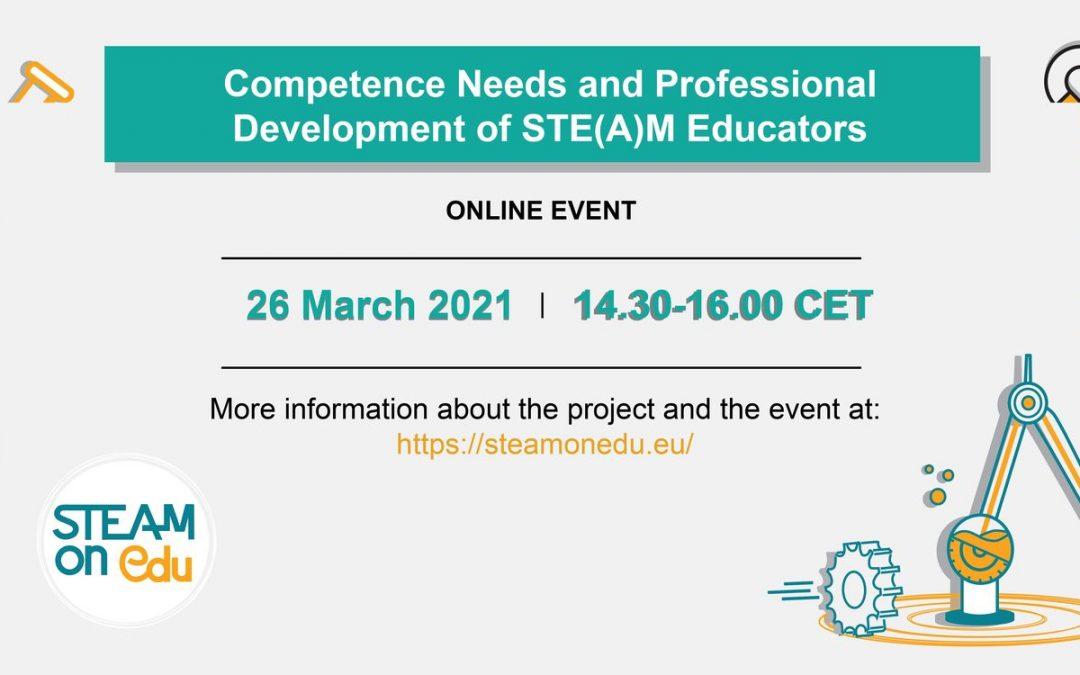 H Ερευνητική Ομάδα DAISSy του ΕΑΠ διοργανώνει διαδικτυακό σεμινάριο με τίτλο «Ανάγκες και Επαγγελματική Ανάπτυξη Εκπαιδευτικών STE(A)M»