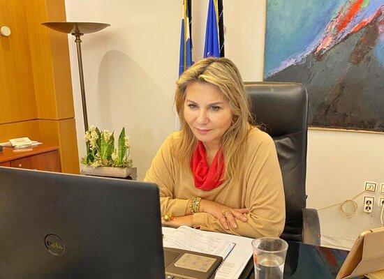 Η Ζέττα Μακρή σε εκδήλωση του Χαροκόπειου Πανεπιστημίου για τη βιώσιμη ανάπτυξη στην εκπαίδευση