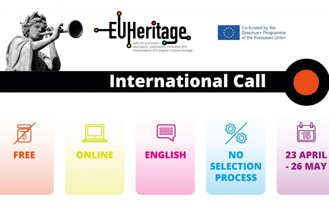 Διεθνές Διαδικτυακό Πρόγραμμα Κατάρτισης με αντικείμενο την προβολή και διαχείριση της πολιτιστικής κληρονομιάς
