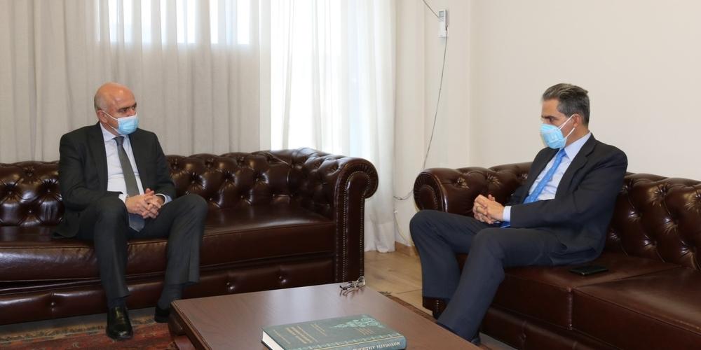 Περιοδεία σε Μακεδονία και Θράκη πραγματοποίησε ο Υφυπουργός Παιδείας