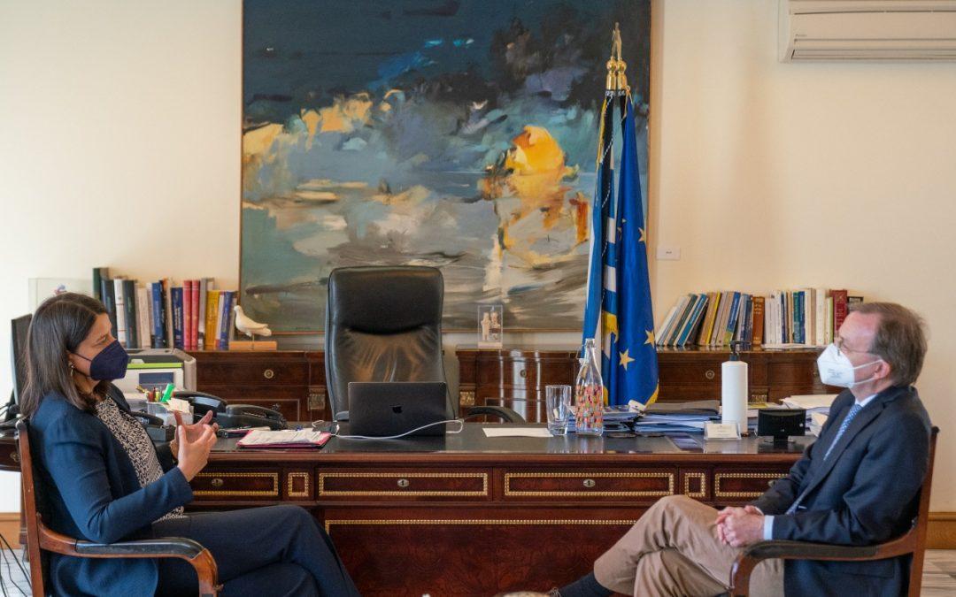 Ελληνο-γερμανική συνεργασία και εξωστρέφεια στην Επαγγελματική Εκπαίδευση και Κατάρτιση