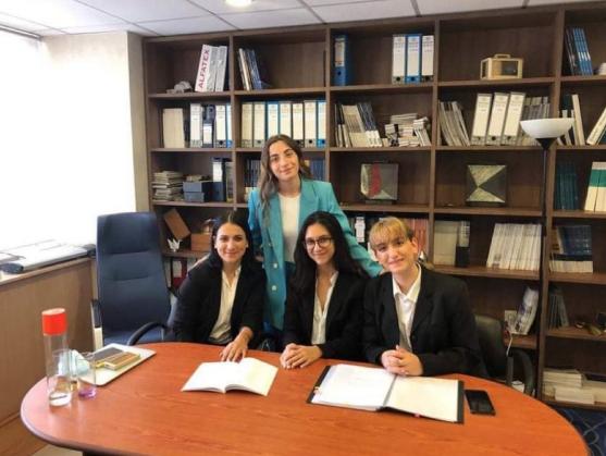 Η ομάδα της Νομικής Σχολής 3η μεταξύ 23 Ευρωπαϊκών Πανεπιστημίων για το 2021 στον Διαγωνισμό Εικονικής Δίκης (Manfred Lachs Space Law Moot Court Competition)