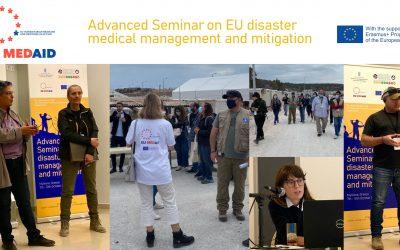 Η Πρώτη Ακαδημαϊκή δράση της έδρας Jean Monnet «Ανθρωπιστική Ιατρική και Διαχείριση Κρίσεων στην πράξη» του ΕΚΠΑ πραγματοποιήθηκε στη Μυτιλήνη